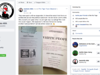 "Anti-Fascist & Alt-Right Propaganda Flyers Appeal to ""Whites"" for Membership -Kyle Brady"